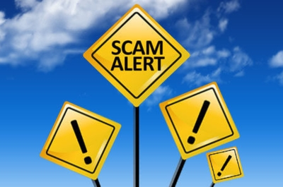 Beware of cheque cashing & money wiring scams